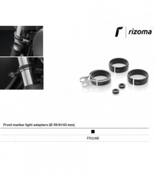 Adaptador mini intermitente (delantero) 1pc Rizoma