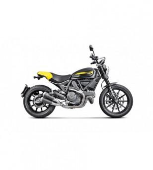 Slip-On Titanio Negro Ducati Scrambler (15-16) S-D8SO4-CUBTBL Akrapovic