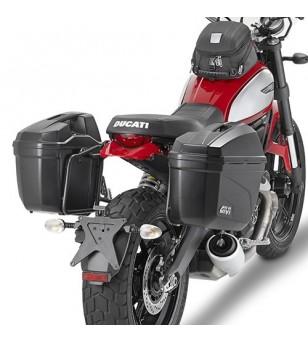 'Soportes Laterales p/Ducati Scrambler 400 & 800 16'' Givi'