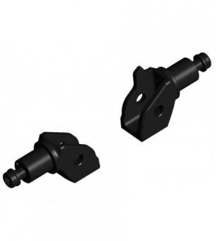 Kit adaptadores p/posapies Neg BMW R1200 GS 17 Adv Rizoma
