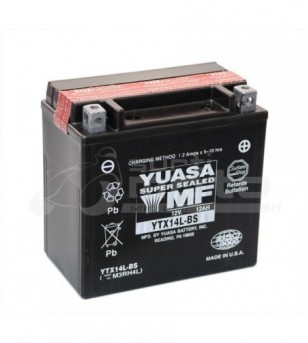 Bateria YTX14L-BS  Polo Invertido Yuasa USA