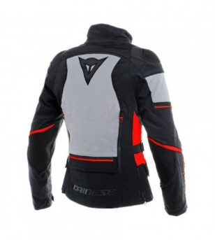 Chamarra Carve Master 2 Gore-Tex P/mujer Ngo/Rjo/gris Dainese