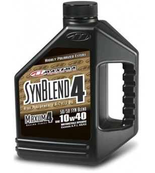 Lubricante Synthetic Blend 10W40 Galon Maxima