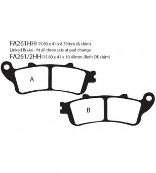 Zapata FA261HH EBC