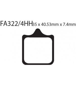 Zapata FA322/4HH EBC