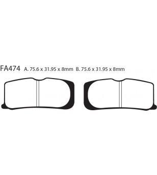 Zapata FA474 EBC