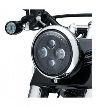 Faro LED ORBIT 7 No HALO 94-20 Street Glides, Road Kings, & Trikes H-D 2476 Kuryakyn