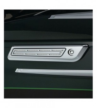 Luces LED HINGE ACCENTS cromo p/ maletas laterales 14-20 cromo H-D 5476 Kuryakyn