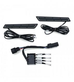Luces LED HINGE ACCENTS ngo p/ maletas laterales 14-20 cromo H-D 5477Kuryakyn